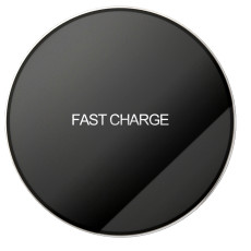FCLUO QI Wireless Charger Acrylic Intelligent Identification Charging Device Quick Charging Base for All Qi-Enabled Device