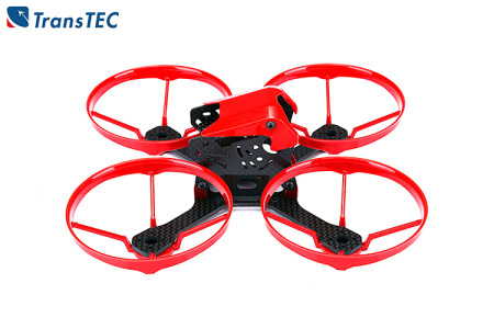 TransTEC KOBE Frame KIT 140mm 48g Mini Quadrocopter Kit with Propeller Guard RC Body Upper Shell Quadcopter Frame Drone Full Frame Kit