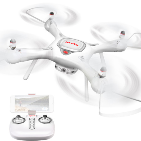 SYMA X25PRO GPS Drone WIFI FPV Quadcopter with 720P HD Camera Real-time FPV Camera Drone 6Axis Altitude Hold RC Quadcopter RTF