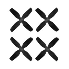 HQProp 40mm 4-Blade Propeller ABS 1.6 inch Props 1.0mm Hole Whoop Prop CW CCW for Mobula7 Mobula 7 HD FPV Racing Drone Quadcopter 4pcs/set