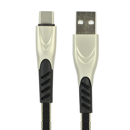 FCLUO Braided Fast Charging Data Cable For Type-C Interface Mobile Phone