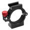 BGNING CNC Universal Expansion Bracket Mount PRO Version With 4-Ring Hot Shoe Adapter Ring For Zhiyun Smooth 4 Mobile Gimbal Handheld Tripod Accessories