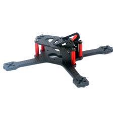 JMT SQX135 135mm Wheelbase Mini FPV Frame Kit Carbon Fiber CF Rack For DIY FPV Racing Drone Quadcopter 3 inch Props 1103/1104/1305 Motors