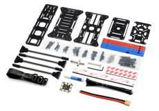 JMT BlueX450 Frame KIT Aluminum Tube Rack For DIY FPV Racing Drone Quadcopter Multicopter Multi-Rotor