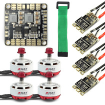Mini RC Racing Drone Brushless Motor ESC Combo 4x EMAX RS2306 2400KV & Mini ESC BLHeli-s 30A + Mini Power Distribution Board