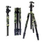 BGNING Carbon Fiber Professional Tripod Mount Ball Head Kit for DSLR SLR Digital Camera Stand Holder Photography Accessories Max 1730mm
