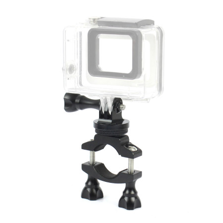 BGNing Bike Mount Bicycle Bracket Holder Clip Rotating Accessories with Camera Tripod Mount Screw for DJI OSMO 2 GoPro SJCAM XIAOYI GitUp