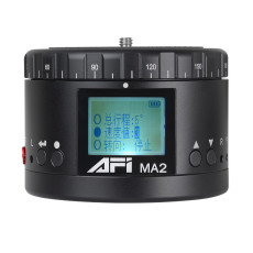 AFI MA2 Metal Electric Head Panoramic Gimbal Camera Stablizer 360 Degree Time Lapse Shooting Lasting Life HD Display For Canon Nikon Sony DSLR