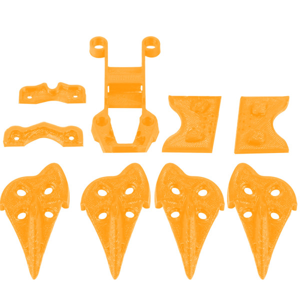 iFlight 3D Printed TPU Accessory Kit 3D Print for Cidora SL5 5inch 215mm Freestyle RC FPV Racing Drone