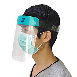 XT-XINTE Anti-fog Saliva Protective Mask Dustproof Breathable Transparent Face Cover Anti-virus Protective Mask