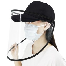 JMTTOP Protective Face Mouth Mask Caps Removable Particulate Respirator Hat Anti-Spitting Splash Prevents Saliva Transmission Windproof Sand Mask