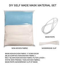 XT-XINTE DIY Mask Sets Disposable Mask Material Mask Rope Elastic Band Ear Rope