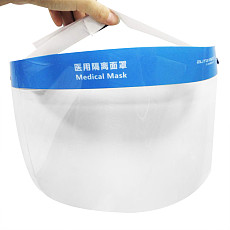 XT-XINTE Professional Film Anti-fog Adjustable Full Face Protective Mask Dustproof Breathable Transparent Face Cover