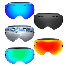 XT-XINTE Double Layer Ski Goggles Large Spherical Mountain Anti-fog Outdoor Sports Protective Glasses Health Care Equipment