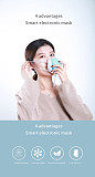 XT-XINTE KN95 Electric Smart Mask 4 Layers Anti-Virus Breathable Facial Protective Cover Masks with 2pcs Filters