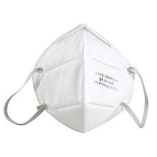 XT-XINTE 5PCS KN95 Face Mask 95% Filtration Disposable Mask Anti-virus Anti-fog Haze Dustproof for Exhaust Gas/Allergies/Pollen/PM2.5