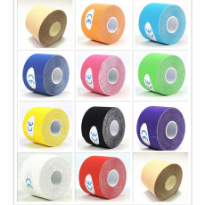 XT-XINTE 5 Meters Kinesiology Tape Athletic Recovery Elastic Bandage Tape Colorful Sport Elastoplast Kneepad Muscle Pain Relief Knee Pads Finger Joints Wrap for Gym Fitness Bandage
