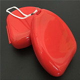XT-XINTE CPR Resuscitator Rescue Masks Emergency CPR Breathing Mask Mouth Breath One-way Valve Tools Pocket First Aid Training Equipment