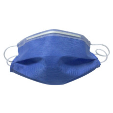 XT-XINTE 50pcs Meltblown Cloth Protective Masks Non-Woven Disposable Masks 3 Layers Thickened Health Care Supplies Dark Blue