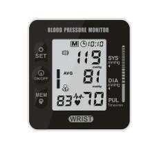 XT-XINTE New Digital Blood Pressure Heart Monitor Tensiometer Wrist Tonometer Automatic Sphygmomanometer BP Pulse Rate Meter