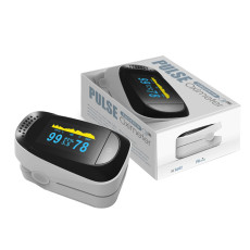 XT-XINTE Portable Finger Clip Oximeter OLED NM Infrared Finger Pulse Oximetry Monitor PI Sleep Monitoring Heart Rate Detector