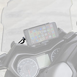 QWINOUT Navigation Bracket Mobile Phone Stand for Yamaha Xmax300 (2A60014)