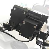 QWINOUT Modified Navigation Bracket Mobile Phone Clip Set for BMW R1200RS / R1200GS / ADV Shock-absorbing A Version Set(2A60018)