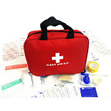 XT-XINTE 36 Items/300pcs Portable Emergency First Aid Kit hand Bag Home Outdoor Travel Sports Medical Treatment Pack for Survival Rescue