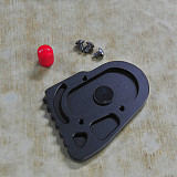 QWINOUT Modified Side Foot Support Increase Block Kickstand side stand extension plate for BMW R1200GS/R1200GS ADV