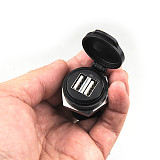 QWINOUT USB Charger R1200GS / R1200GS ADV Dedicated for BMW Retrofit (2A30008)
