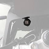QWINOUT Suitable for BMW F750 / 850GS USB Charger Holder Double-head Nondestructive Line Modification (2A20032)