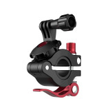 Sunnylife Universal Bicycle Clamp for Sports Camera 360degree Rotation Adapter Clip for 22-26mm Pipe for Osmo Action for Gopro