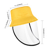 XT-XINTE Children Antibacterial Anti Fog Dust Caps 2 in 1 Protective Hat for Kids Anti Flue/Spittle/Dust/Fog Windproof Cover Full Face Eye Protect Hat Detachable Mask