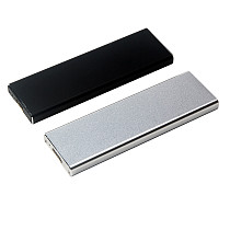 XT-XINTE Aluminum Alloy External Hard Drive Case for 2012 MacBook Air SSD to A1465 A1466 MD223 MD224 MD231 Adapter USB 3.0 HDD Enclosure