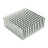 XT-XINTE 2x 50*50*20mm Radiator Cooler Heatsink Aluminum Heat Sink Cooling for LED Chip Transistor IC Module Power PBC Heat Dissipation