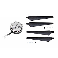 Tarot 6012 132KV Brushless Motor with Paddle TL3009 Propellers for 550/600 Multi-axis Multi-rotor RC Helicopter Aircraft