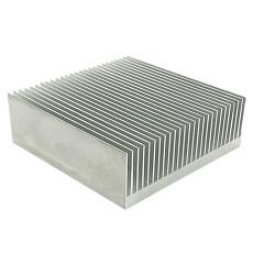 XT-XINTE 1x Electronic Radiator Cooler Fin Aluminum Heatsink Computer Water Cooling System IC Chip LED 100*100*18mm 80*80*27mm Heat Sink