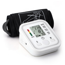 XT-XINTE Portable Smart Voice Blood Pressure Monitor With LCD Display Arm Type Voice Smart Digital