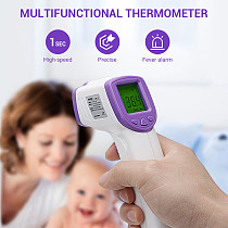 XT-XINTE Forehead Digital Infrared Thermometer Non-contact Medical LED Temperature Measurement for Children Adults Fever Baby Health Care