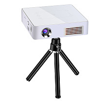 FCLUO C9Plus DLP 4K Home Theater Cinema USB HDMI AV SD Mini Portable HD LED Android 7.1 4K Video Projector