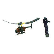 Feichao Kids Toy Handle Pull Wire RC Helicopter Drone Fly Freedom Drawstring Mini Plane Children's Gift Outdoor Games Aviation Model
