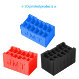 JMT 3D Print TPU Battery Container Box 3D Printing Holder for Up to 12pcs Mini Indoor FPV Racing Drone RC Aircraft Lipo Battery