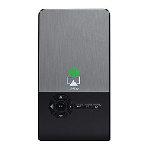 FCLUO C2 Mini Smart DLP Projector 100 AISN Lumens 3D HD Rechargeable Wireless WiFi Same Screen Home Theater Android System 1GB RAM + 8GB ROM