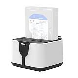 KIMAX HD03WF NAS Multi-function Hard Disk Holder 2.5 / 3.5 inch WIFI Wireless USB3.0 Mobile Hard Disk Box Holder