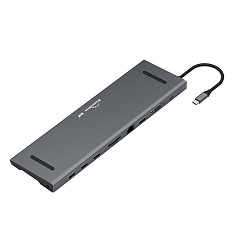 Blueendless Type-c Docking Station HDMI HD VGA Ten in one Usb3.0 Converter Multi-function Hub HC101C