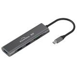Blueendless Type-c Docking Station Usb3.0 Card Reading Multi-Function Five-in-one Hub Macbook Accessories HC501 HU501