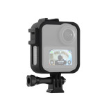 BGNING Plastic Protection Frame Case Panoramic Action Camera Cage Border With Mount Adapter For Gopro Max Sports Camera Accessories