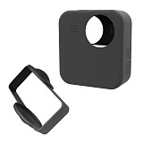 BGNING Silicone Armor Skin Case Body Cover Protector Video Bag Silicone Case For GoPro MAX Drop Protection Case