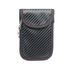 BGNING Faraday Card Car Keys Case FOB Signal Blocker Bag RFID Shielding Key Credit Card Bags Organizer for Privacy Protection BAG1042