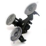 BGNING Car Windshield Triple Vacuum Suction Cup Fat Gecko Mount for GoPro Hero 7/6/5/4/3/3+/2/1 Xiaomi Yi SJ4000 SJ5000 SJ7000